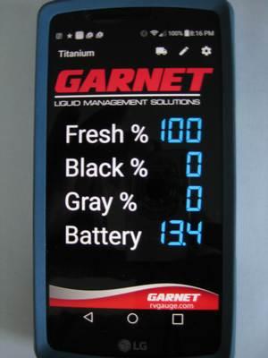 garnet app display