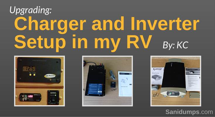 Upgrading Charger and Inverter Setup