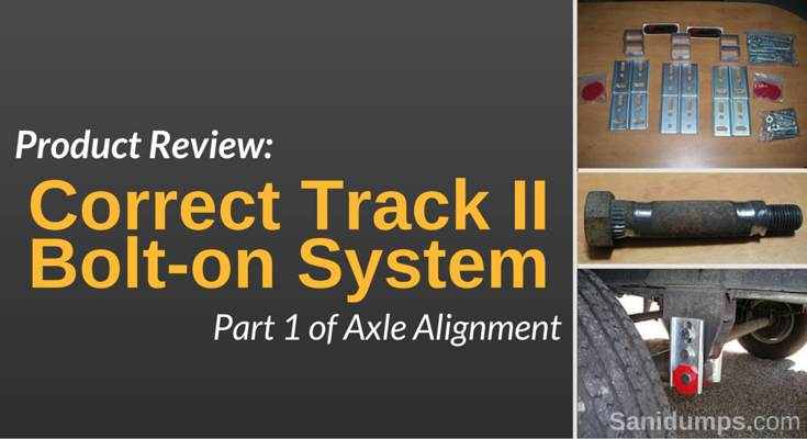 product review correct track banner
