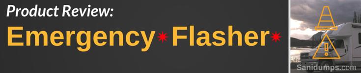 emergency RV flasher